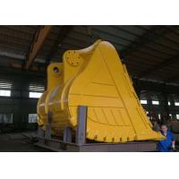 China 5 Cum Excavator Rock Bucket Construction Machinery Parts Wear Resistant For Digging on sale
