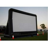 China Open Air Inflatable Movie Screen Double Stitching AC 110V / 220V Supply Voltage factory