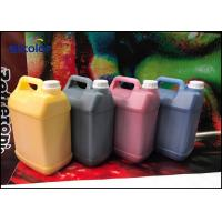 China Outdoor Digital Printing Konica Solvent Ink , Non Toxic Wide Format Ink factory