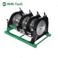 China 220v Heat plate butt Fusion welders for HDPE PE pipe fittings for 90-315mm factory