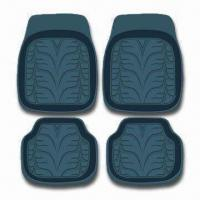 China Rubber Car Mat with Universal Design that Fits All Car Models factory