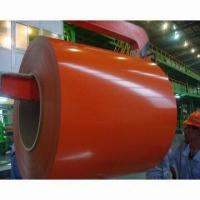 Buy cheap Color-coated Steel Coil with 508mm Inner Diameter from wholesalers