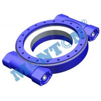 Buy cheap High Precision Worm Drive Slew Ring Four Point Contact 9 Inch Outside Dia from Wholesalers
