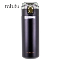 China ABS Vacuum Drink Bottle , 400ml Insulated Stainless Steel Bottle factory