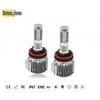 Buy cheap LED car headlight bulbs, 72W 6000k 4000lm H8 Led Headlight Replacement Kit Block Electromagnetic Interference from Wholesalers