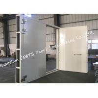 Buy cheap Explosion Proof Steel Framed Blast Door Industrial Garage Doors For Governments And Banks from Wholesalers
