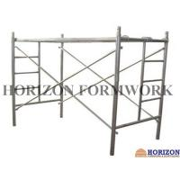 Multi - Function Ladder Frame Scaffolding Q235 Steel Pipe For Construction Work