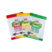 Buy cheap custom printed 3 side seal/flat pouches for packing snack food products with Tear notch from Wholesalers