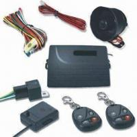China Car Alarm System, Supports Microwave/Ultrasonic Sensor Detecting factory