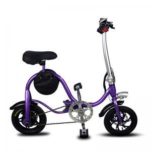 China Disc Brake Fold Up Electric Bike Aluminum 6061 Body Material S1 Stem Folding factory