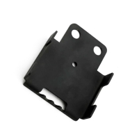 China OEM Black Painting Cold Stamped Steel Parts For Bracket factory