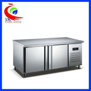 China Counter Type Restaurant Vegetable Storage commercial refrigerator freezer Horizontal factory