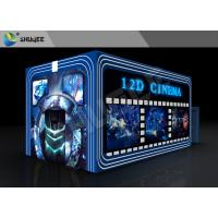 China Entertainment Virtual 12D Cinema XD Theatre Cabin With 3DOF Eletric Chairs factory