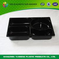 Buy cheap Black  Disposable Food Trays Flight Packaging  Airline from Wholesalers