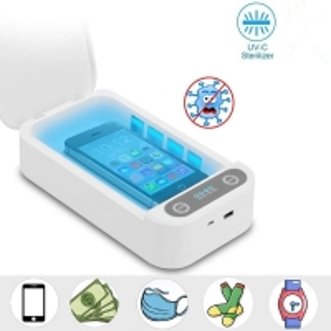 China Phone Uv Light Cleaner Box IOS 180s Portable UV Sterilizer Box factory