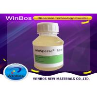 China Aqueous Wetting And Dispersing Additives 9.5 PH White Paste For Vibrant Colors factory