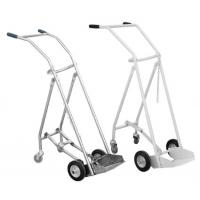 China SS 201/304 Oxygen Tank Trolley , Foldable Medical Oxygen Cylinder Trolley on sale