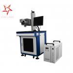 Buy cheap 0.01 Mm Line Width UV Laser Marking Machine Permanent Printing 355 Nm Laser Beam from Wholesalers
