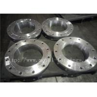 China ANSI ASME Duplex stainless steel forged flanges For Ball Valve factory