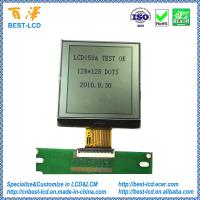 China Customized 3.0V 128x128 FSTN Positive Reflective COG LCD Display Module For Data Scan/POS Machine on sale