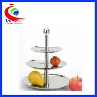 China Wedding Display Buffet Restaurant Equipment Decorative Fruit / candy cake display stand factory