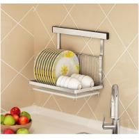 Buy cheap Dish And Bowl Wall Mounted Kitchen Storage Rack No Drilling Installation from wholesalers