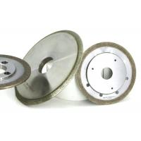 Buy cheap Bronze Metal Bond Grinding Wheels Sapphire Ferrite Refractive Slot Shaping Usage from Wholesalers