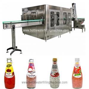 China Glass Bottle Filling Machine, Small Juice Production Machinery, Making Plant on sale