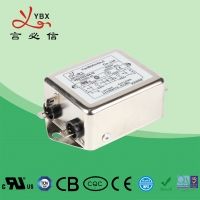 China 10A 115V Power EMI EMC Filter Single Phase With Increased Attenuation factory