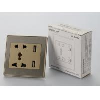 Buy cheap Hot selling mobile charging european socket usb charging electrical socket from wholesalers