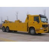 China Durable Hydraulic Highway / Road Accident Wrecker Tow Truck With Crane Arm factory