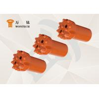 China Geological Exploration Taper Button Bits Rock Drilling Tools Abrasion Resistance factory