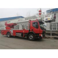 Buy cheap 32 meters Aerial Ladder Fire Truck Euro V emission Five telescopic ladders from wholesalers