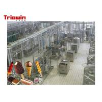 China High Power Dairy Processing Line Soft Ice Cream Manufacturing Equipment on sale