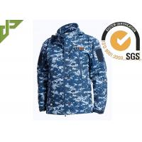Buy cheap Soft Shell Military Tactical Jackets 100% Polyester With Loop Knitting For Autumn from Wholesalers