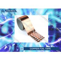 China Die Cutting Copper insulation tape Roll FOR Electromagnetic Shielding factory