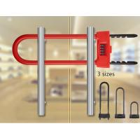 Buy cheap Anti Theft Glass Door Lock 4 - Digit Combination Electric U Type For Shop from Wholesalers