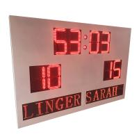 China Custom DIP Digit Indoor Outdoor Portable Scoreboard With Led Team Name factory