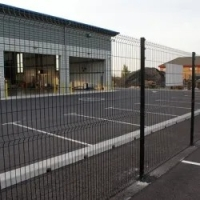 China Outdoor PVC Coated 3D Wire Mesh Fence Welded Garden Fence Panels on sale