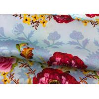 Buy cheap Eco Friendly Floral Printed Silk Fabric Shrink Resistant 140 Cm Width from Wholesalers