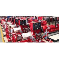 Buy cheap Diesel Engine End Suction Fire Pump Set Fire Fighting 5 00GPM138PSI UL FM NFPA 20 from Wholesalers
