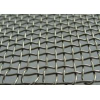 Buy cheap Manganese Stainless Steel 295MM*60G Crimped BBQ Mesh / Screen Wire Mesh from Wholesalers