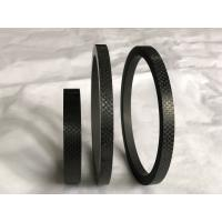 China Durable Carbon Fiber Floating Seal Ring Designed In Industry , Black Color factory