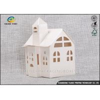 Buy cheap Candy / Cookie Folding Gift Boxes Special House Shaped Strictly Quality Control from Wholesalers