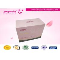 Quality Organic Cotton Menstrual Pads , 240mm Daily Use Disposable Sanitary Napkins for sale