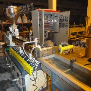 China PP PE mastbatch twin screw extruder machine factory