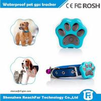 Buy cheap High quality mini waterproof dog gps tracker for cat with gps wifi lbs potioning ways from Wholesalers