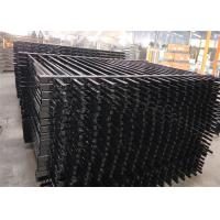 Buy cheap Industrial Steel Security Crimped Spear Fencing Panels from Wholesalers