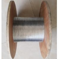 Buy cheap Q195 / Q235 Carbon Steel Wire , Electro Galvanized Wire Mesh 0.5MM*50KG/Roll from Wholesalers