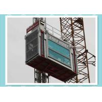 Buy cheap Heavy Load Capacity Man And Material Hoist , High Speed Construction Hoist from Wholesalers